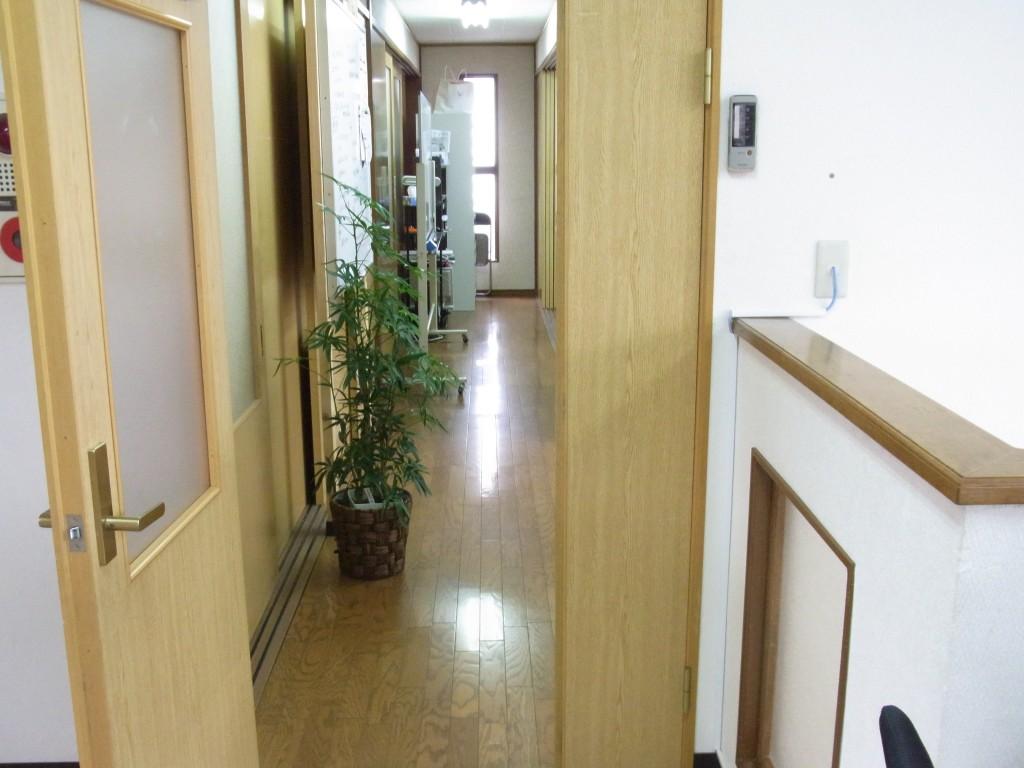 コワーキングスペースUmidassの廊下
