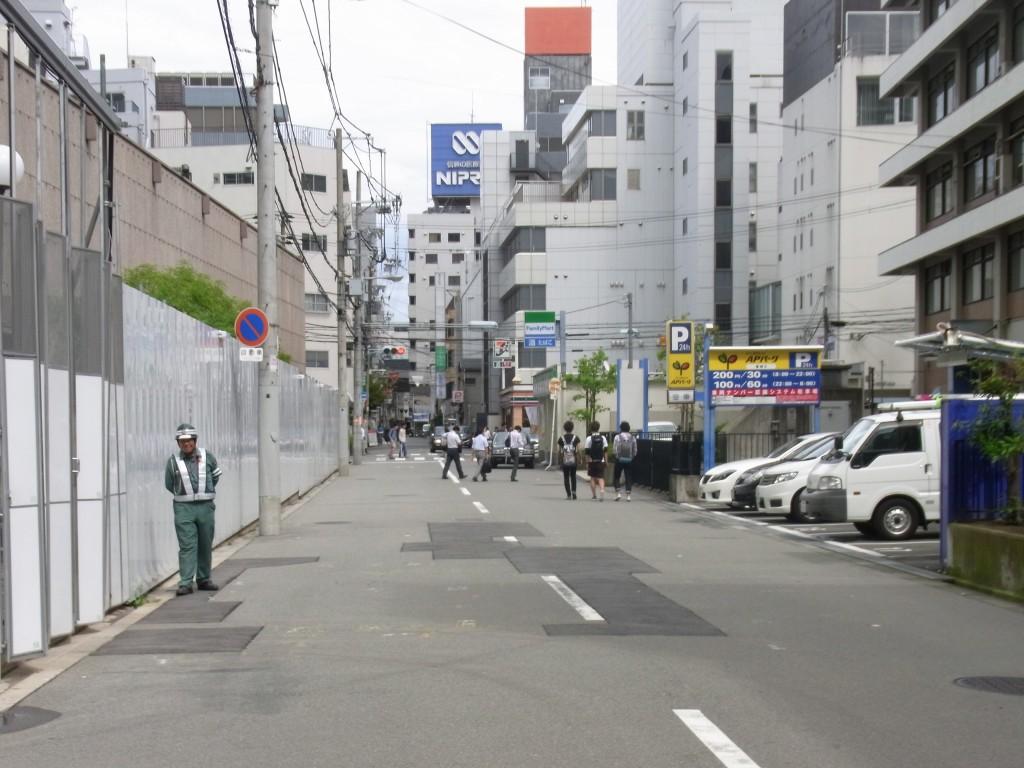 コモンルーム中津への道順2