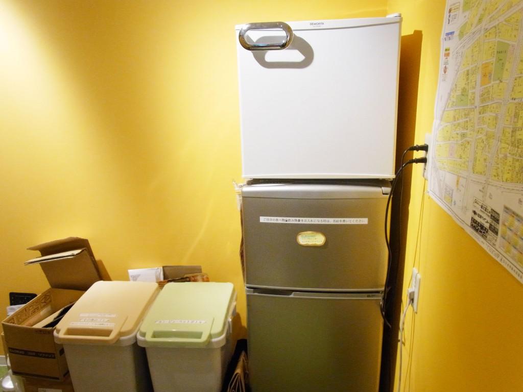 コモンルーム中津の冷蔵庫