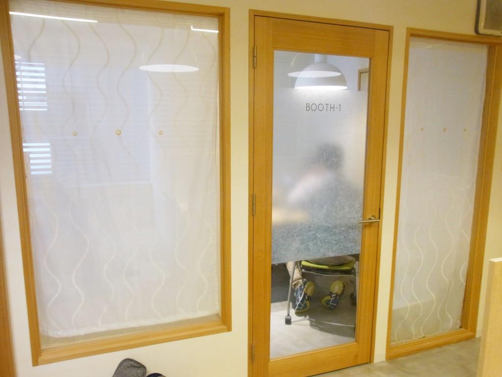シェアオフィス洋室の会議室
