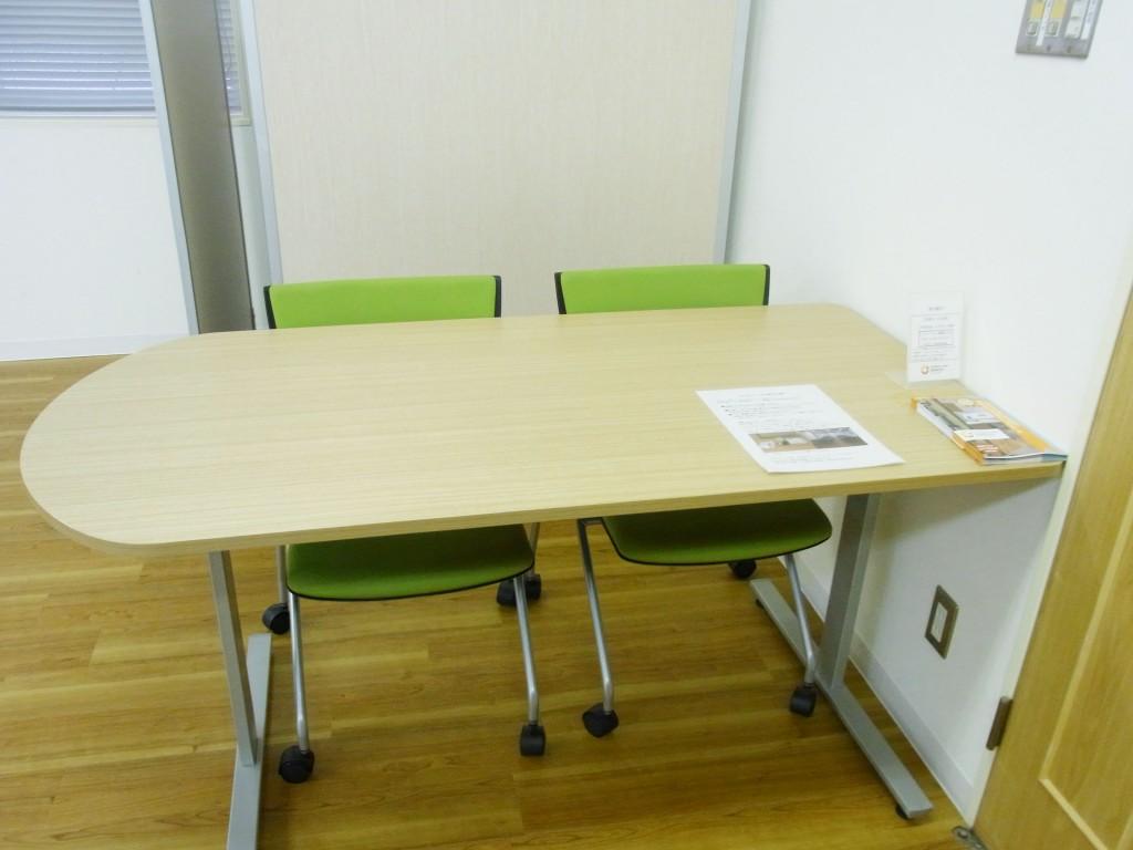6F会議室の受付