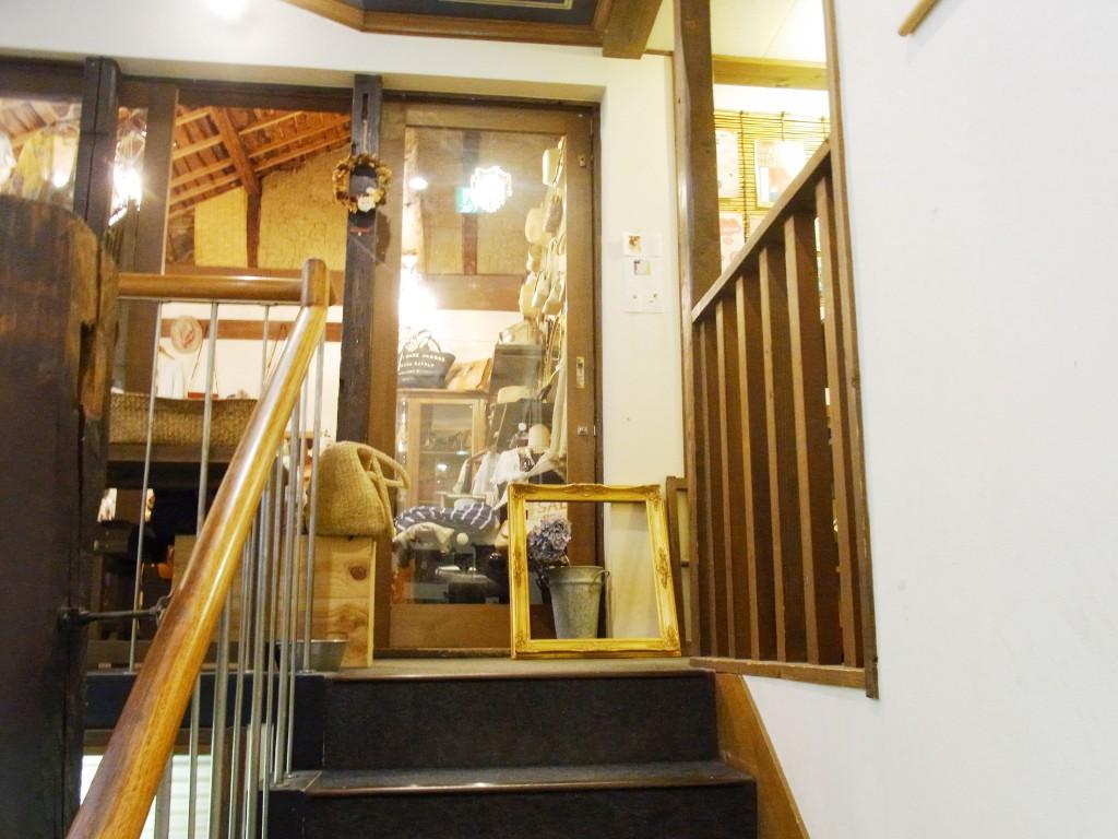 往来のある「萌」の2階