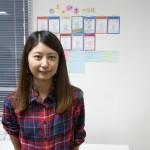 勉強カフェ副店長丸谷若夏さん