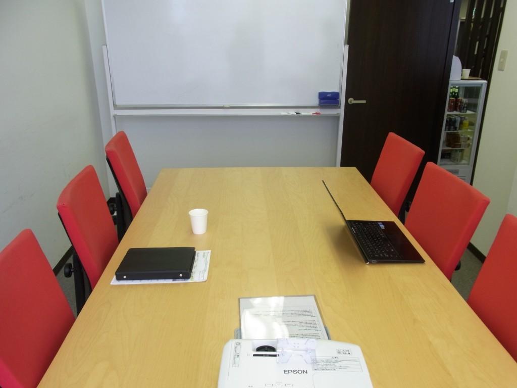 PLAY JOBの会議室大