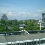 福山駅と福山城