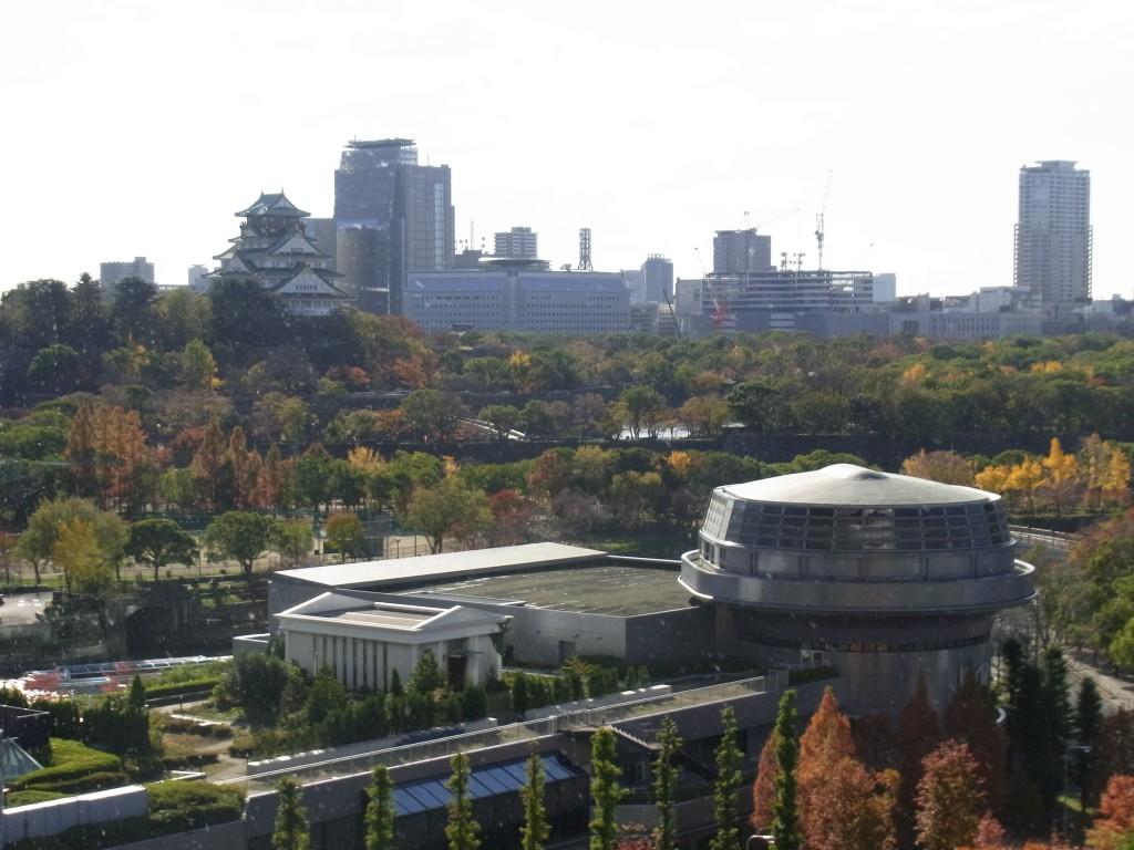 OBPアカデミアから見た大阪城