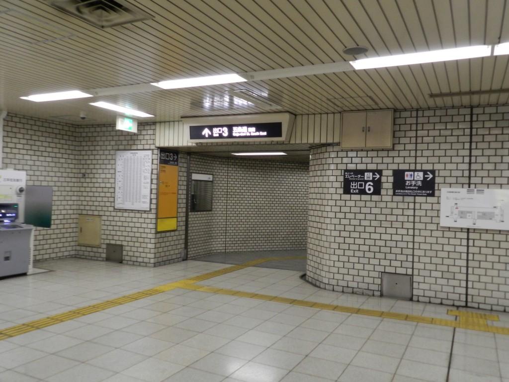 京都市営地下鉄烏丸線五条駅改札を出てすぐ