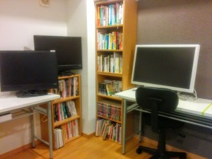 Biz Libraryのモニター
