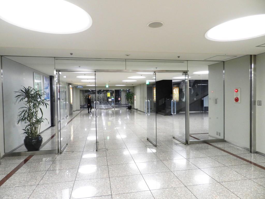 センタービルのオフィスエリア