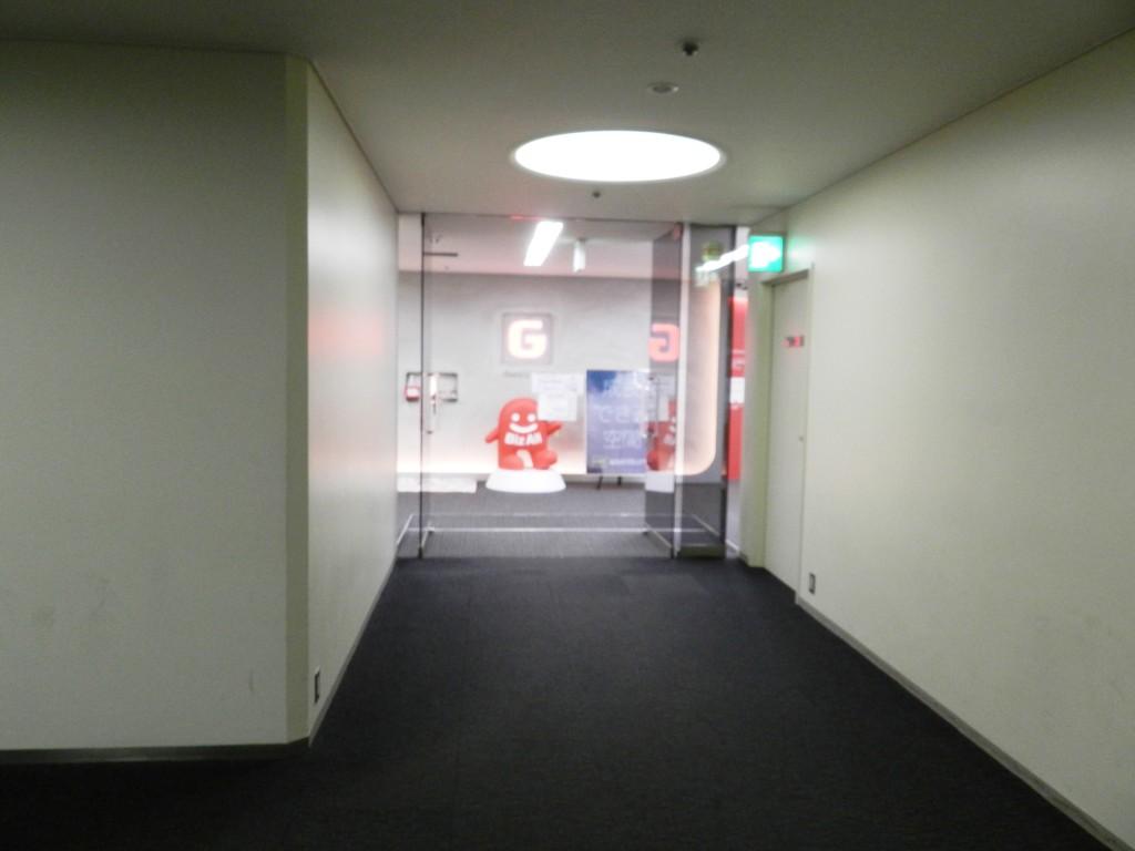 大阪センタービル6Fを降りてすぐ