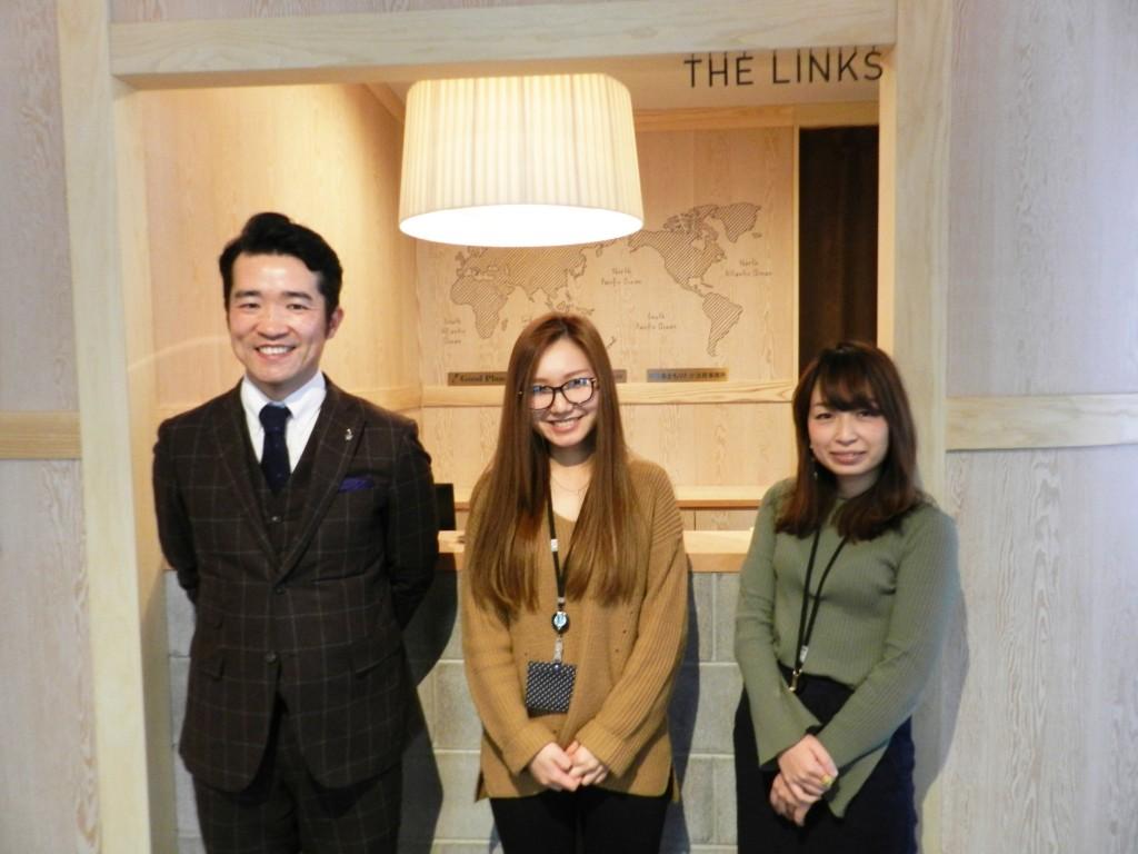 THE LINKS運営責任者坂井さん
