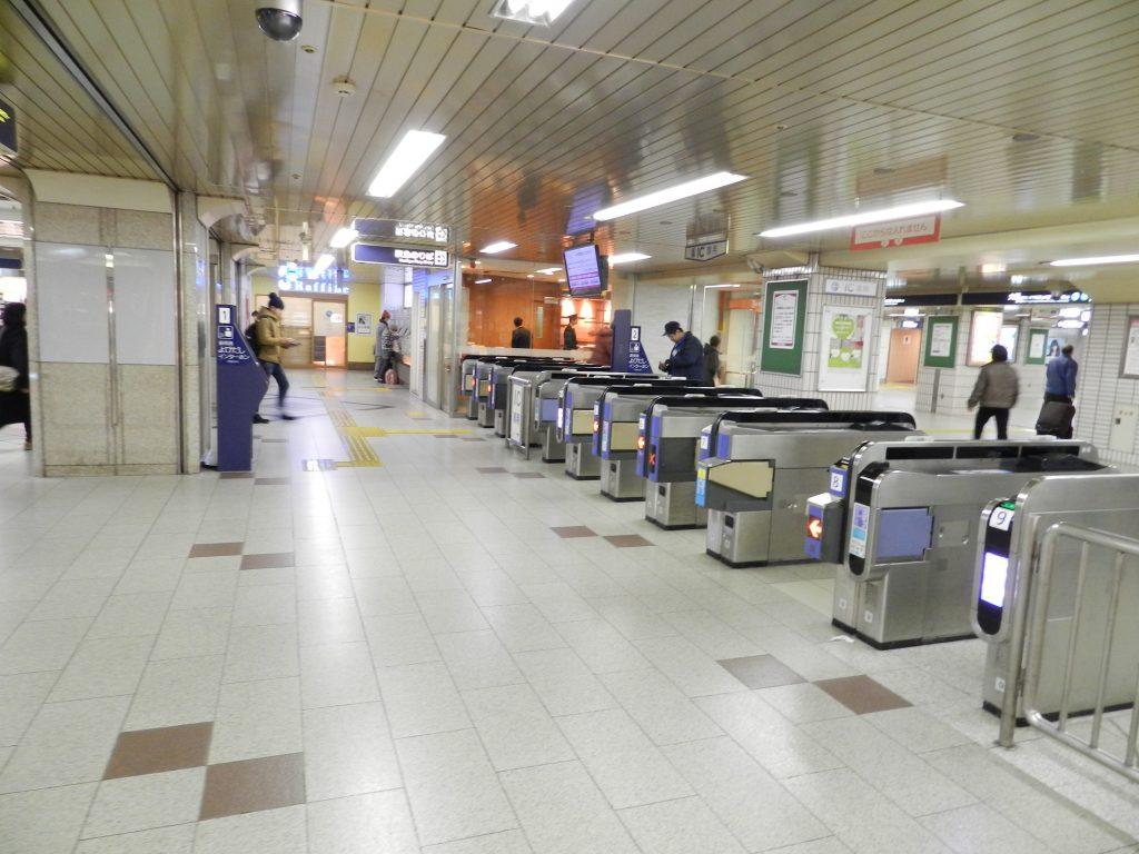 阪急高槻市駅の改札