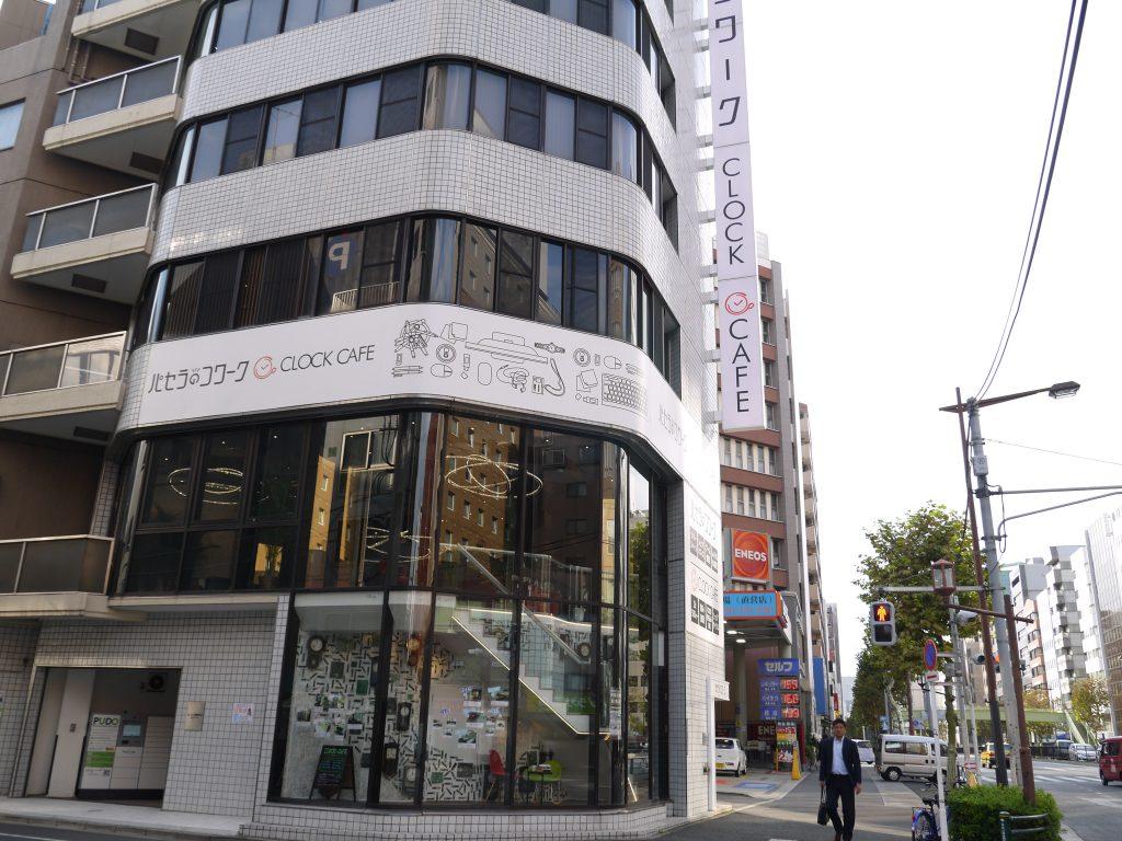 パセラのコワーク東神田店の建物全体
