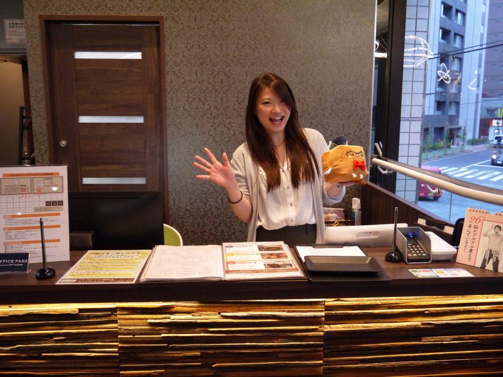 パセラのコワーク 東神田店 佐藤 聡美さんに案内いただきました