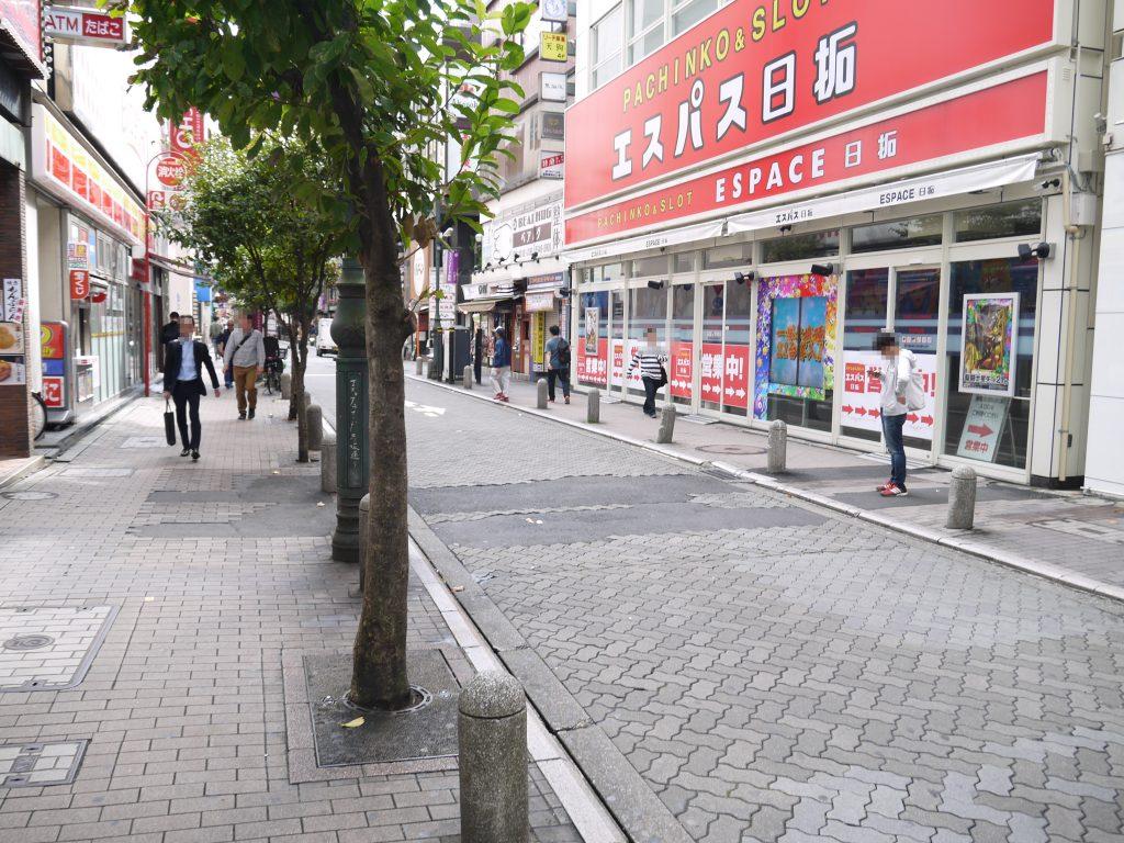 赤坂見附駅から出たところ