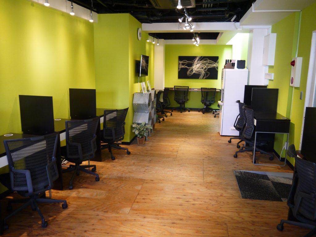 「オフィスパーク 赤坂コークス」のコワーキングスペース