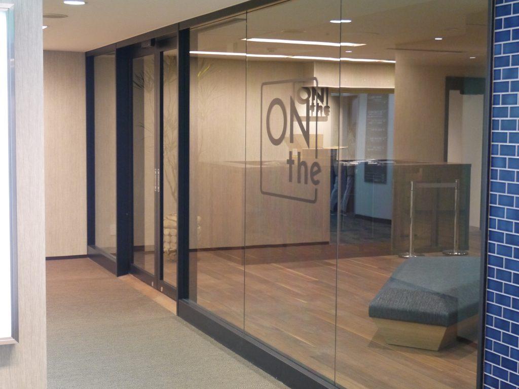 「ONthe UMEDA」の地下入り口