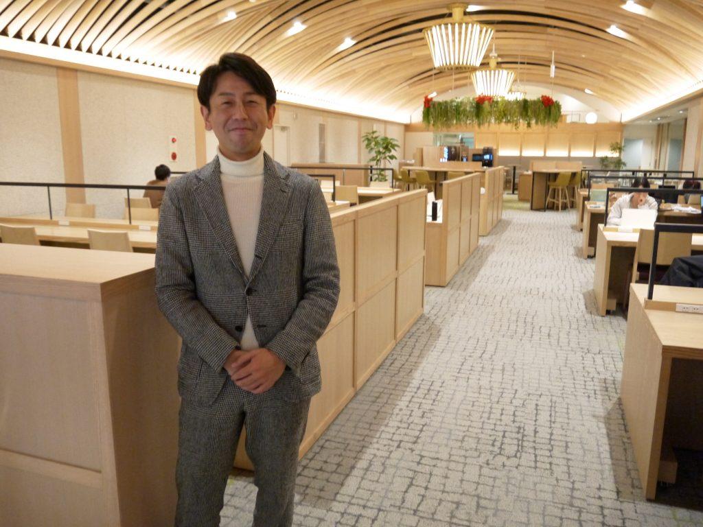 株式会社ワサビ 代表取締役の笹岡周平氏